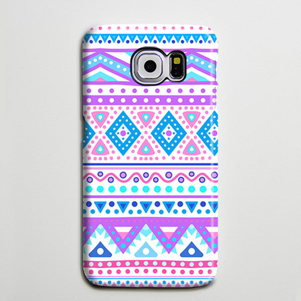 Tribal Pink Blue Ethnic Phone Things I like Galaxy S8 Plus Case  Case Samsung Galaxy Note 5 Case s6-072