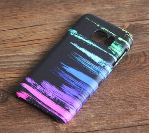 Rainbow Graffiti Samsung Galaxy S7 Edge S7 Case Galaxy S8+  S3 Samsung Note 5/3/2 Cover S7-03 - Apple iPhone Xs/iPhone Xr case by Retina Designs
