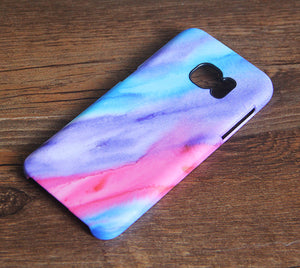 Pastel Watercolor Silk Samsung Galaxy S7 Edge S7 Case Galaxy S8+  S3 Samsung Note 5/3/2 Cover S7-083 - Apple iPhone Xs/iPhone Xr case by Retina Designs