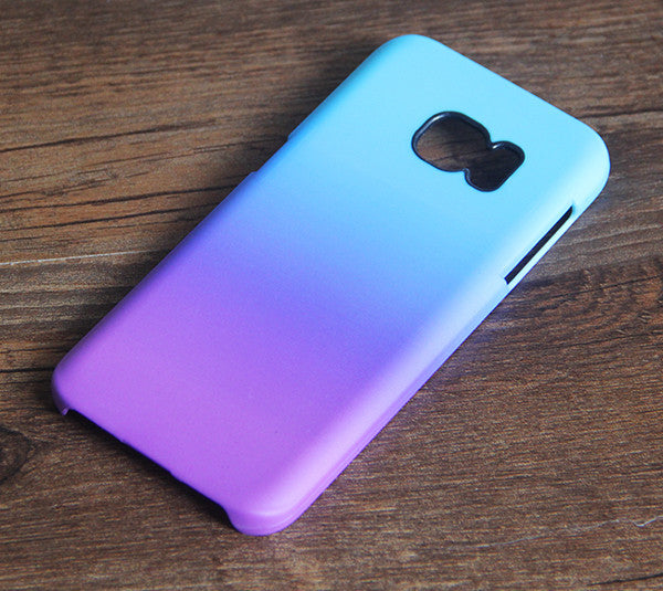 Violet Turquoise Pastel Abstract Galaxy S8 SE Case  Case Galaxy S7 Edge Plus Case 085