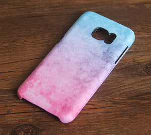 Watercolor Pink Samsung Galaxy S7 Edge S7 Case Galaxy S8+  S3 Samsung Note 5/3/2 Cover S7-162