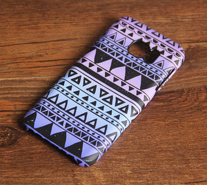 Retro Tribal Print Samsung Galaxy S7 Edge S7 Case Galaxy S8+  S3 Samsung Note 5/3/2 Cover S7-208 - Retina Designs