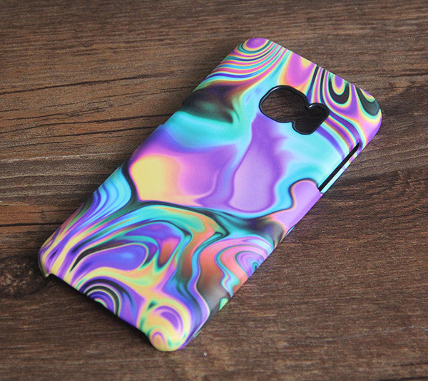 Abstract Liquid Metal Watercolor Galaxy S7 Edge S7 SE Case Galaxy S6 edge+ S5 S4 Samsung Note 5 Cover S7-355