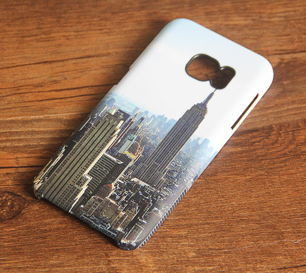 New York Skyline Galaxy S7 Edge S7 SE Case Galaxy S6 edge+ S5 S4 Samsung Note 5 Cover S7-684