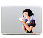 "Colorful Snow White  Carton DIY MacBook Skin Decal Sticker for Apple Macbook Pro Air Mac 13"" inch Laptop 13 Inch SKI-002 - Apple iPhone Xs/iPhone Xr case by Retina Designs"