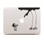 "Black Giving Tree DIY MacBook Skin Decal Sticker for Apple Macbook Pro Air Mac 13"" inch Laptop 13 Inch SKI-004 - Apple iPhone Xs/iPhone Xr case by Retina Designs"