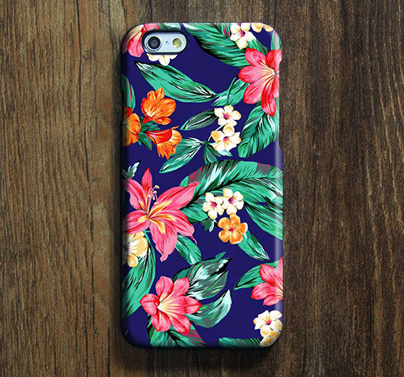 Classy Blue Pink Floral  iPhone XR Case Galaxy S8 Case iPhone XS Max Cover iPhone 8 SE  4 Samsung Galaxy Note 5 Case -SW02 - Apple iPhone Xs/iPhone Xr case by Retina Designs