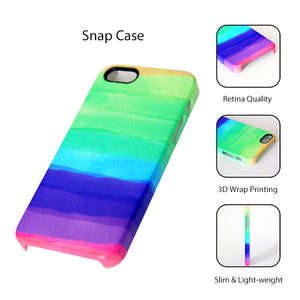Rainbow Color iPhone XR case iPhone XS Max plus Green iPhone 8 SE  Case Purple Samsung Galaxy S8 S6  S3 Case 038 - Apple iPhone Xs/iPhone Xr case by Retina Designs