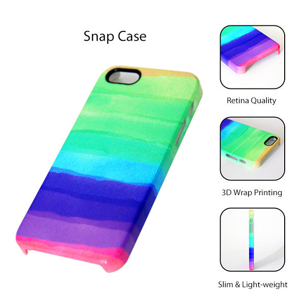 Abstract Color Feathers Tough Protective iPhone 6s Case iPhone 6 plus S7 Edge SE Snap Case 239