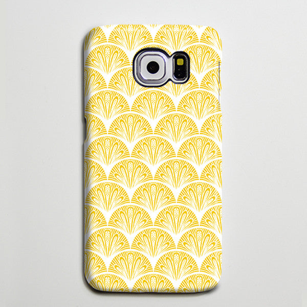 Art Deco Vector Yellow iPhone 6s Plus SE Case iPhone 5s Case Galaxy S7 Edge Plus Case 190