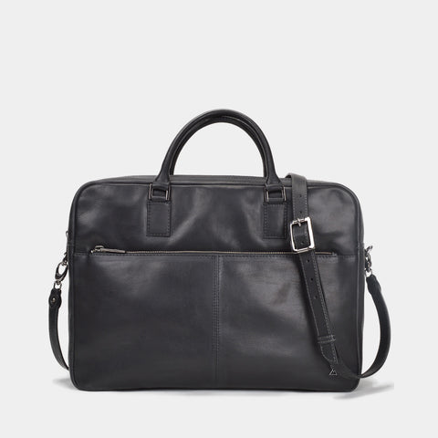 TERRACOMO New York Mens Scoville Double Zip Briefcase