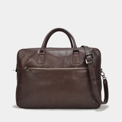 Scoville Double Zip Briefcase | Black VT