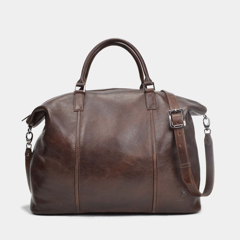 Alicante Overnighter Duffel | Dark Choc VT