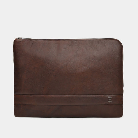 Asher Laptop Sleeve | Dark Choc VT