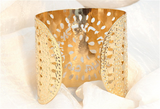 Kabbalah Gold Cuff, 72 Names, Jewish Jewelry, Judaica Jewelry, Gold Jewelry, Eld, Unique Jewish Jewelry