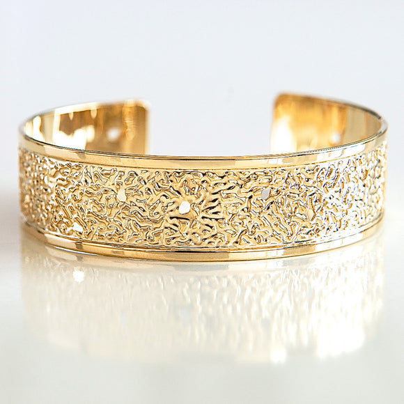Dots, Modern Jewelry, Hammered Gold Cuff Bracelet, Thin Gold Cuff Bracelet, Dainty Gold Bracelet, Delicate Gold Bracelet