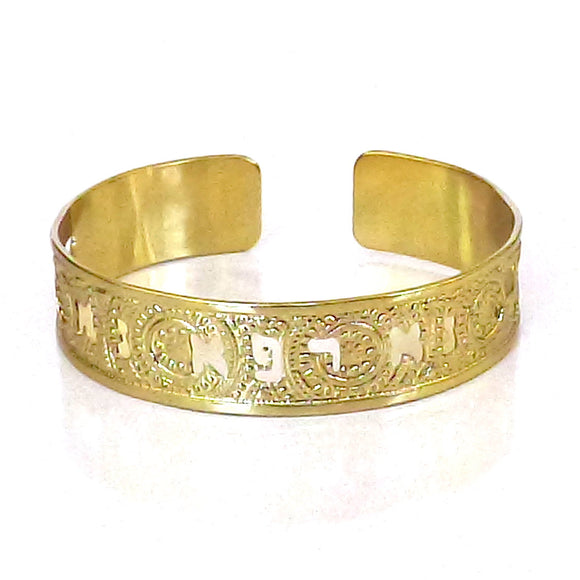 Hebrew Jewelry, Gold Cuff, Hebrew Jewelry, Bible Jewelry, Jewish Jewelry, Healing Prayer, Judaica Jewelry, Religious Jewelry
