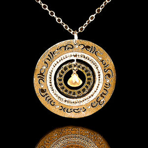 Judaica Jewelry, Hebrew Necklace, Blessings Necklace, Gold Necklace, Citrine Jewelry, Jewish Jewelry, Hebrew Necklace, Jewish Necklace