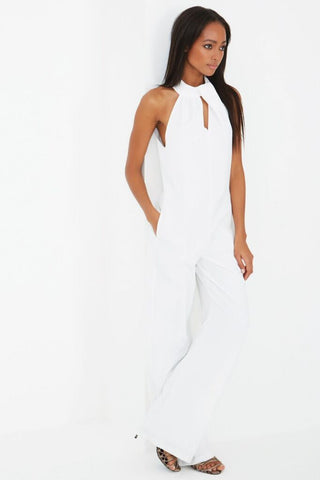 Drape High Neck Jumpsuit - DISTRICT-FASHION - 1