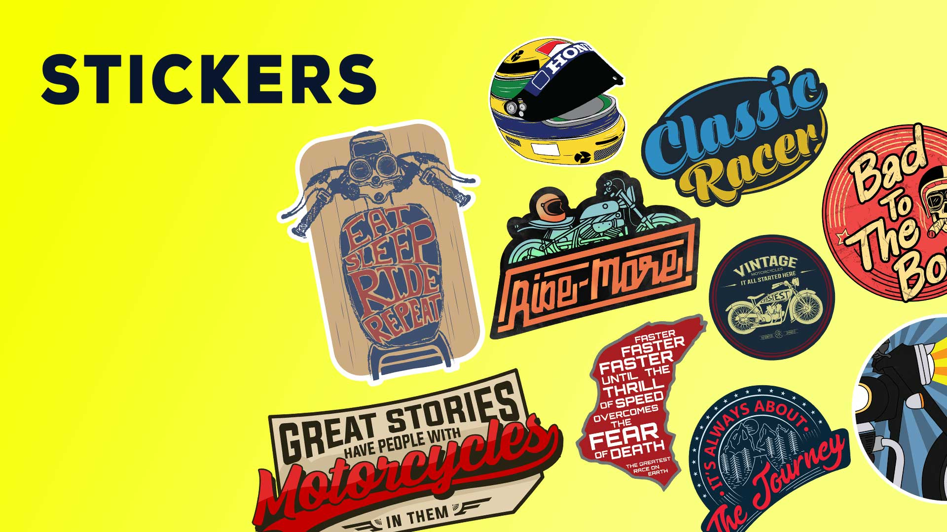 Buy motorcycle car laptop stickers online india 100kmph