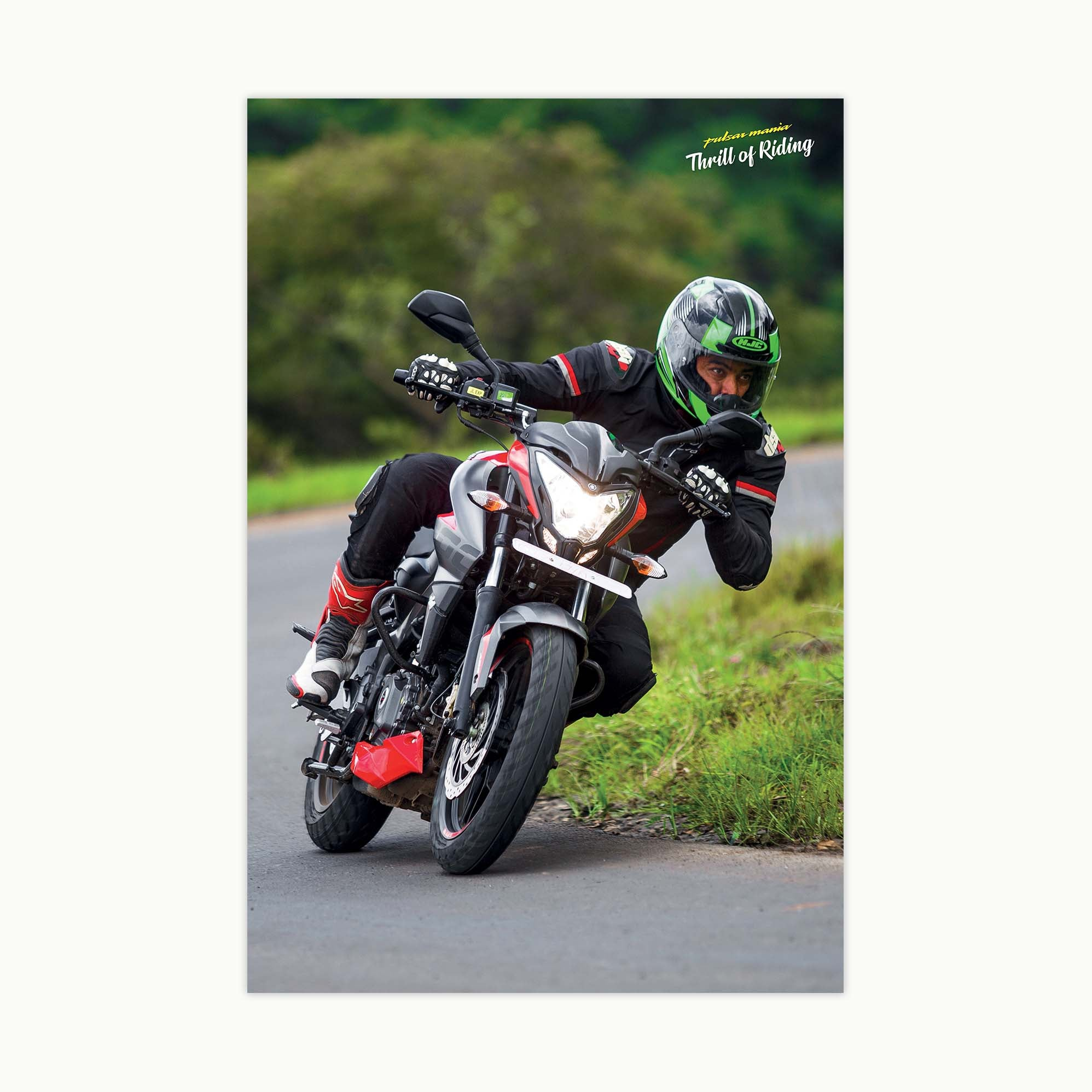 Fast Bikes India-NS200 (Limited Edition) | Poster