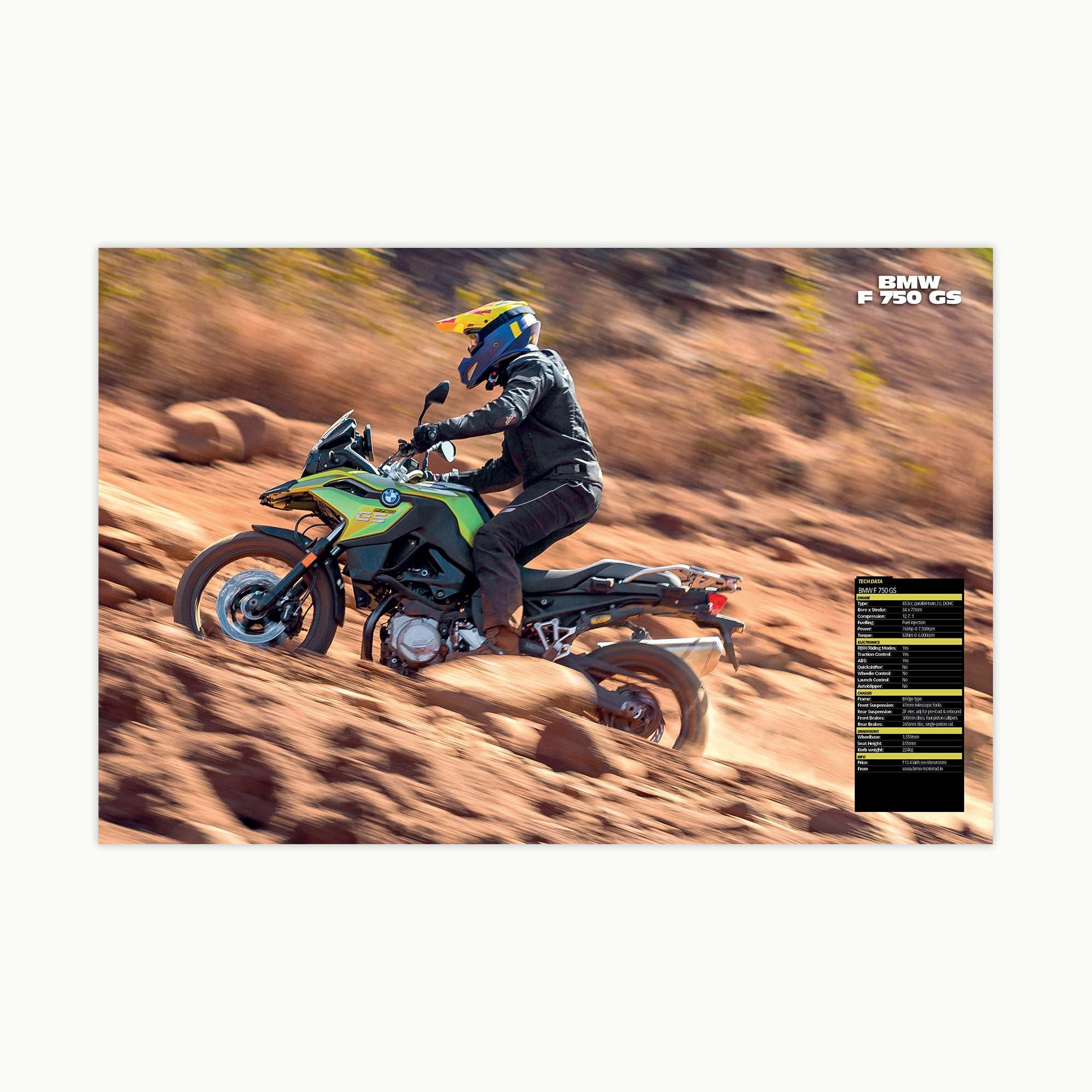 Fast Bikes India-F750GS (Limited Edition) | Poster