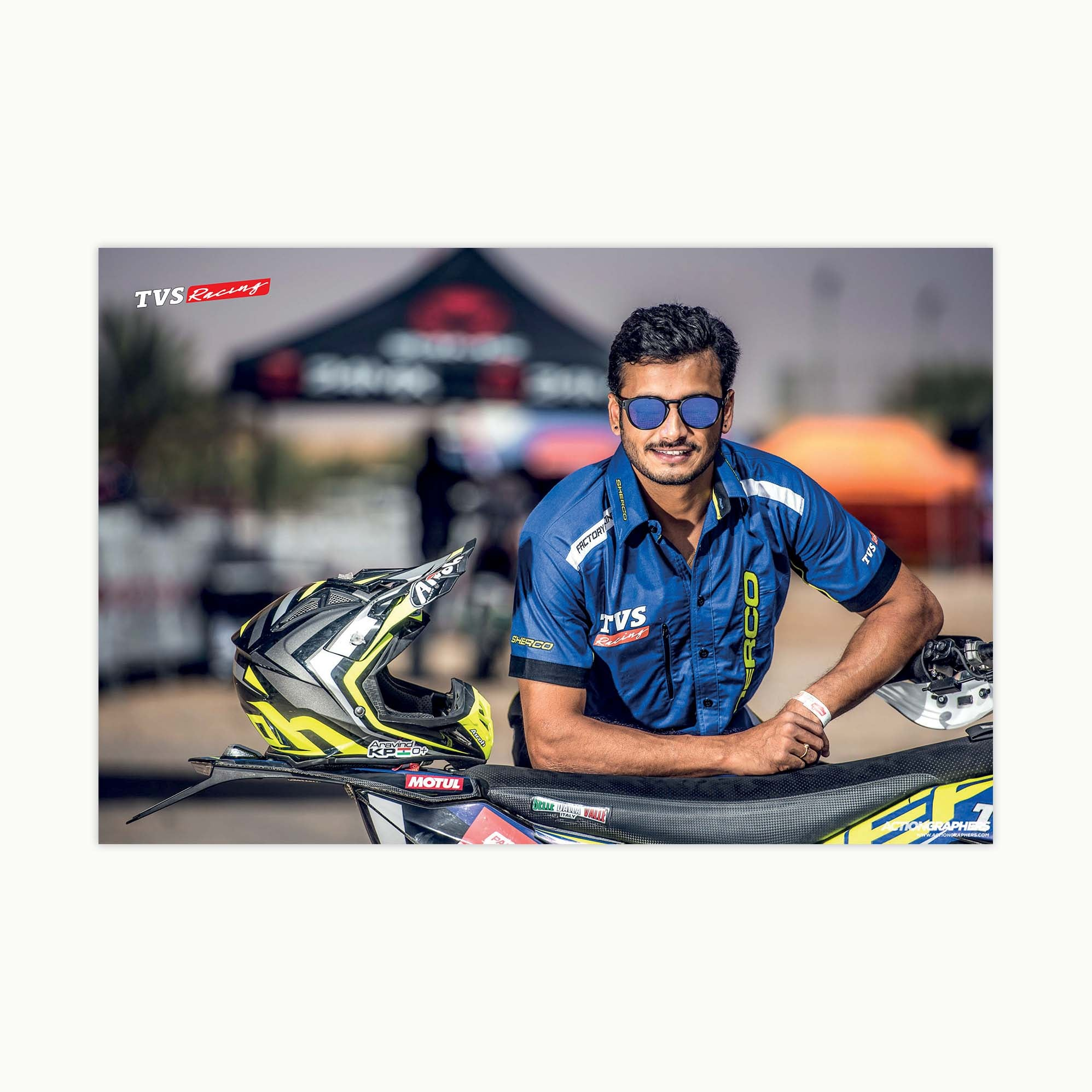 Fast Bikes India-ARAVIND KP (Limited Edition) | Poster