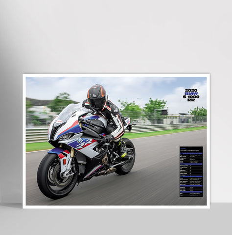 Fast Bikes India-2020 BMW S1000RR (Limited Edition) | Poster
