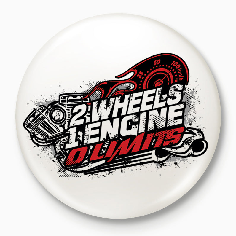 Buy-2-Wheels-1-Engine-0-Limits-Badges| 100kmph