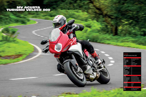Fast Bikes India-MV Agusta Turismo Veloce 800 (Limited Edition) | Poster