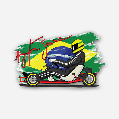 The Brazilian Legend | Sticker