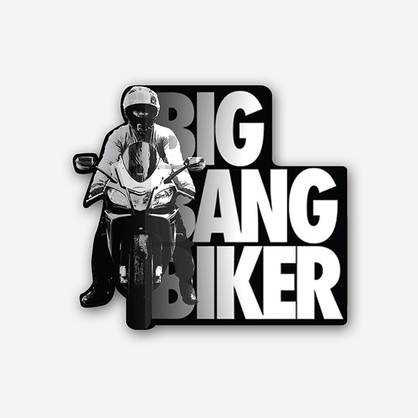 Big Bang Biker | Sticker