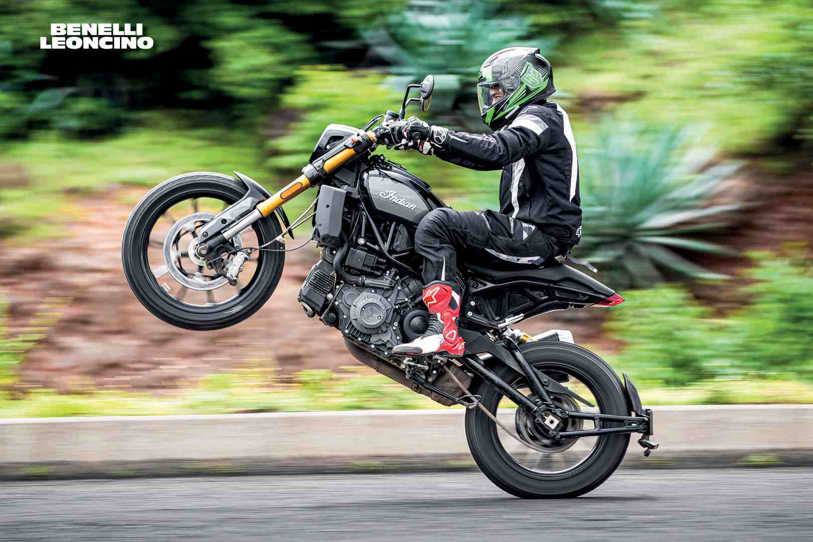 Fast Bikes India-Benelli Leoncino-Wheelie (Limited Edition) | Poster