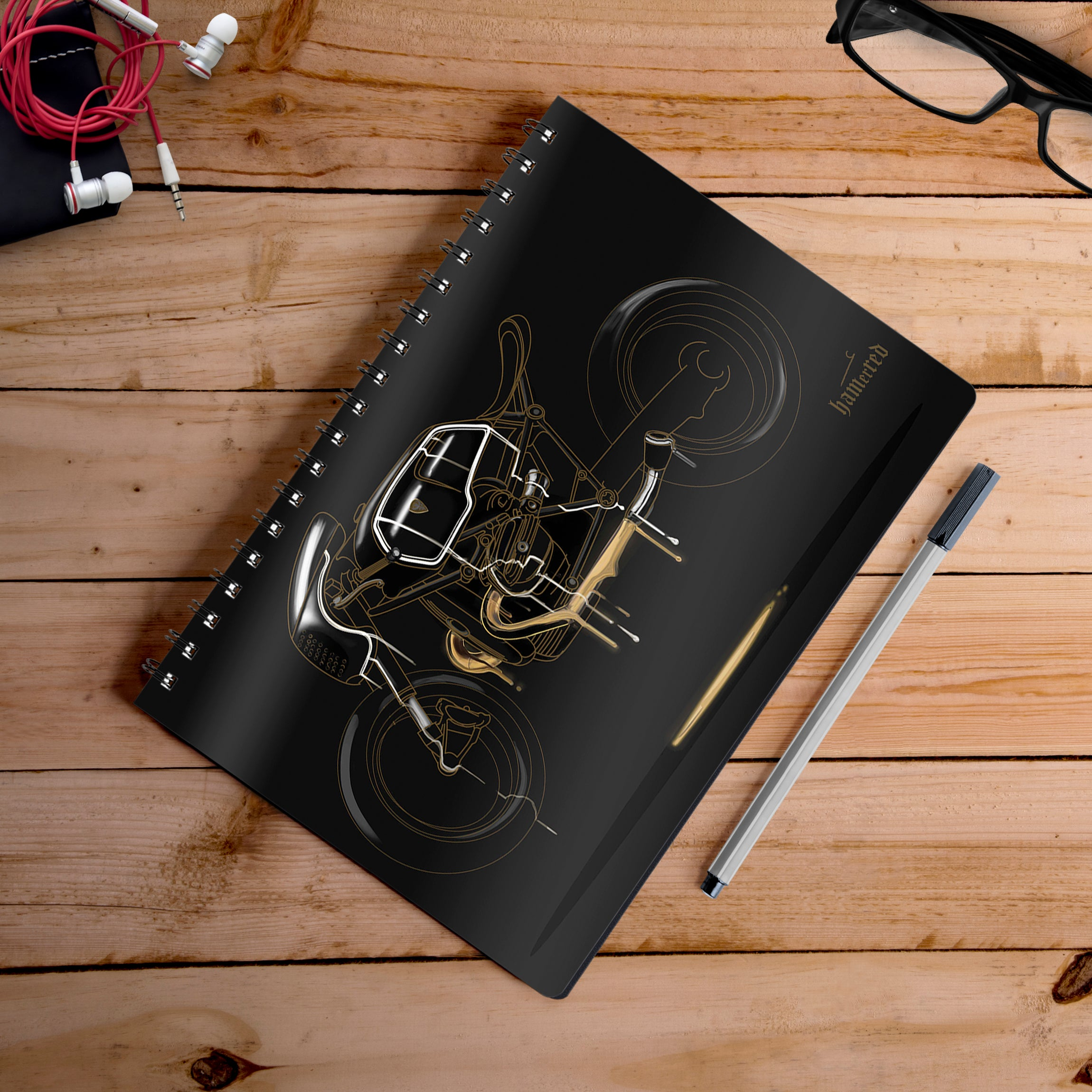 Buy-Black-Magic-Artist-Hamerred49-Notebook | 100kmph