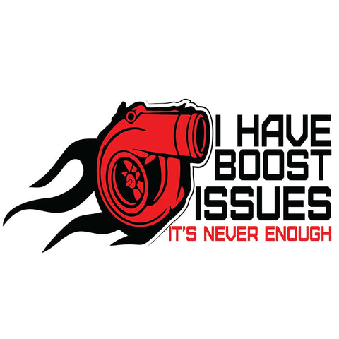 Boost Issues (CAR) | Sticker