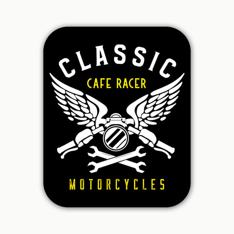 CLASSIC CAFE RACER  | STICKER