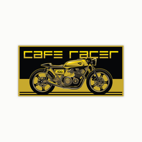 Modern Cafe Racer | Sticker