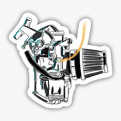 Carb | Sticker