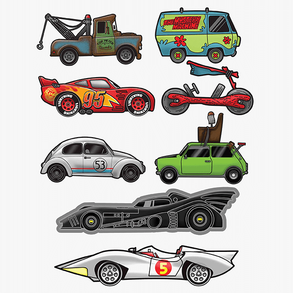 Car-Toon | Stickers Set