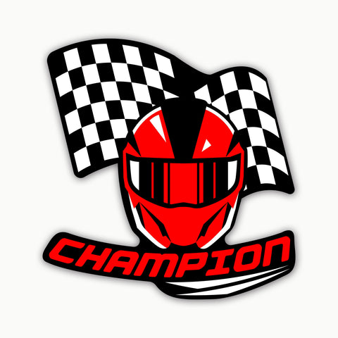 CHAMPION  | STICKER
