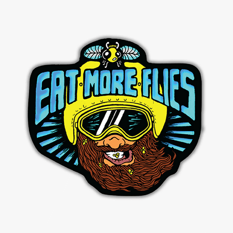 Eat More Flies | Sticker