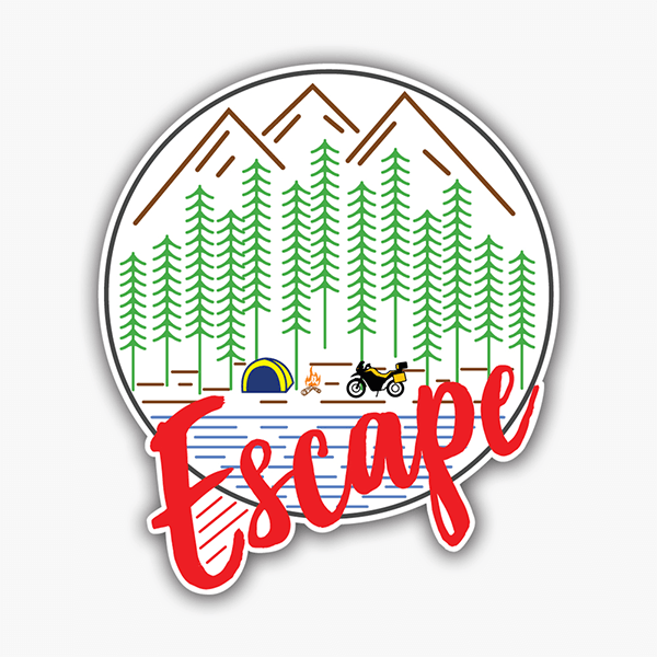 Escape | Sticker