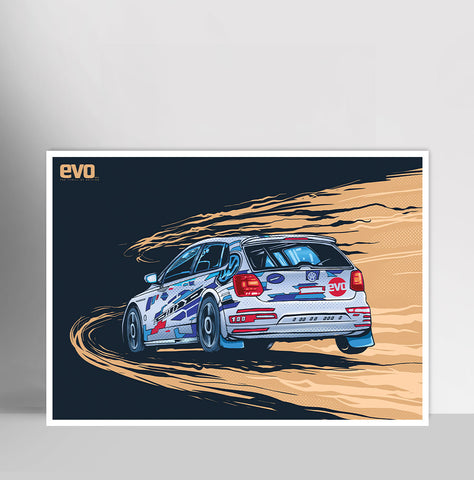 Evo Rally Polo | Poster