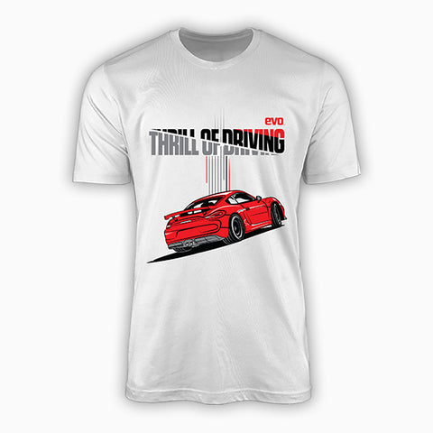 GT4-THRILL OF DRIVING-EVO INDIA | T-SHIRT