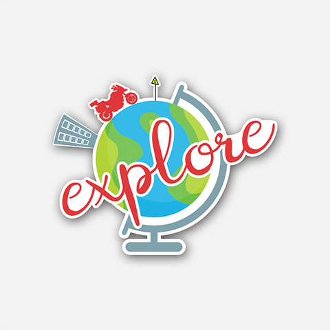 Explore | Sticker