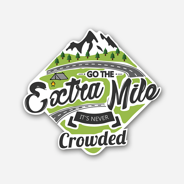 Extra Mile | Sticker