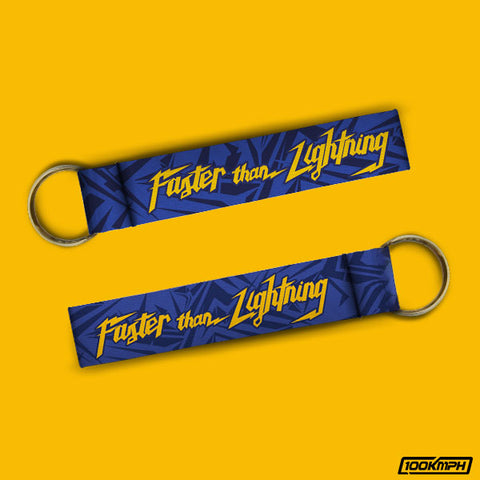 Faster than Lightning | Keychain