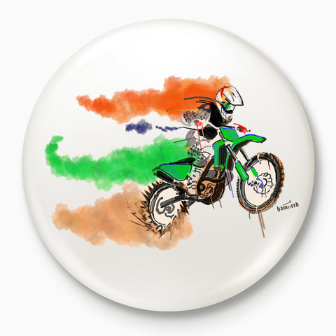 Fastest Indian | Badge