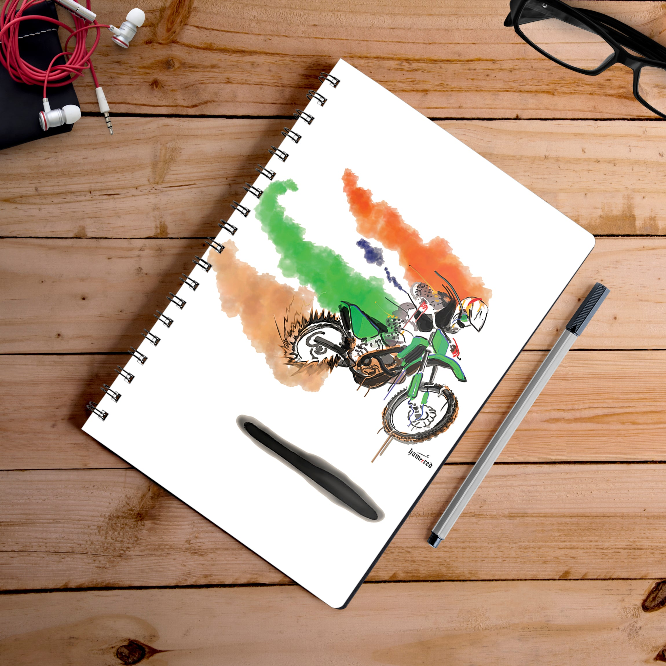 Buy-Fastest-Indian-Artist-Hamerrd49-Notebook | 100kmph