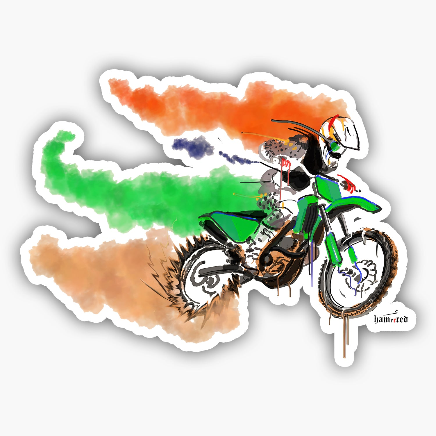 Buy-Fastest-Indian-Stickers| 100kmph